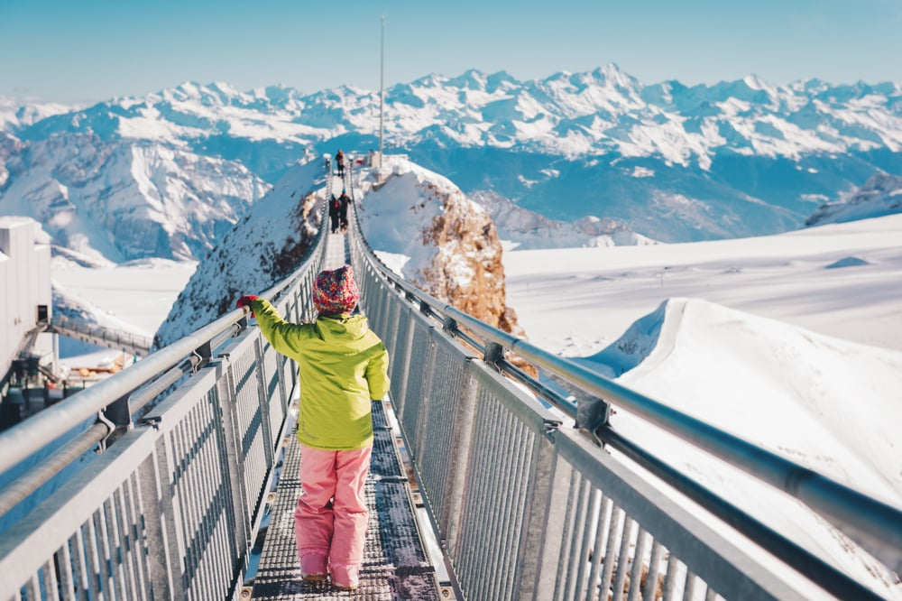 Glacier 3000, Vaud, Suisse