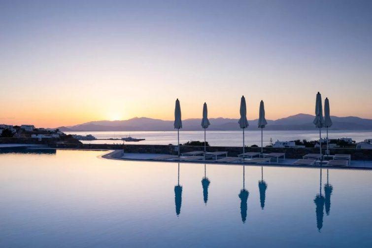 Summer Senses Luxury Resort hotel de luxe Paros