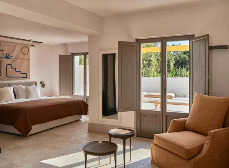 Parilio, a Member of Design Hotels hotel de luxe Paros