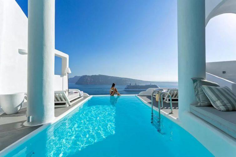 Charisma Suites hôtels avec piscine de Santorin