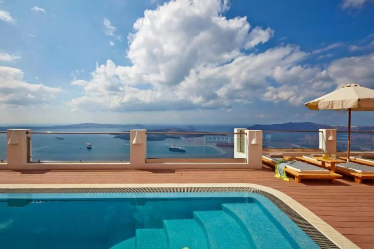 Ira Hotel & Spa hôtels avec piscine de Santorin