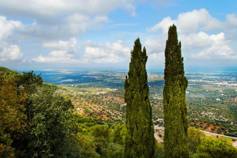 La vallée d'Itria