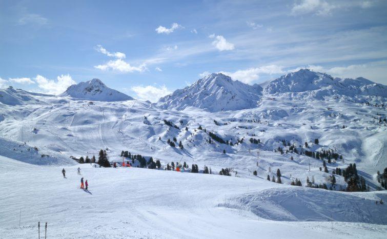 La plagne station de ski alpes du Nord