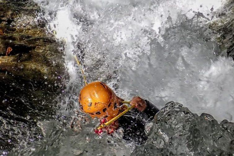 Activités outdoor au Lac de Garde : le canyoning