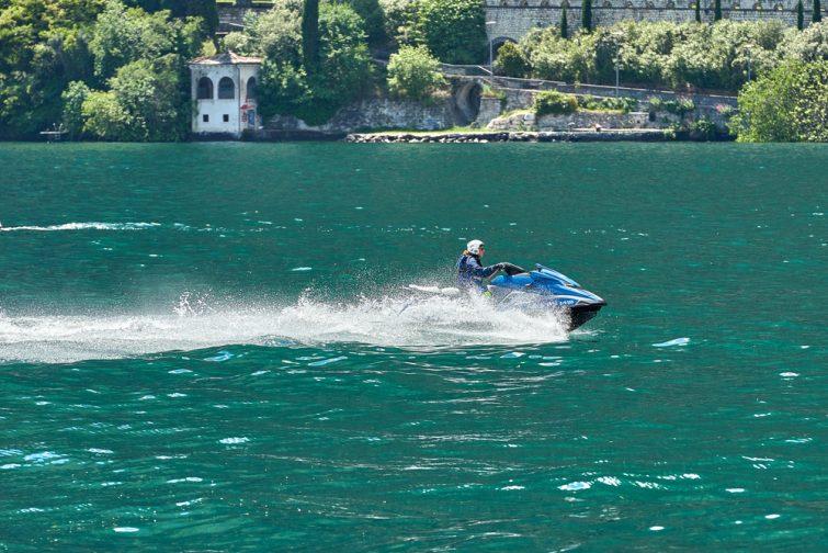 Jet ski à Riva del Garda