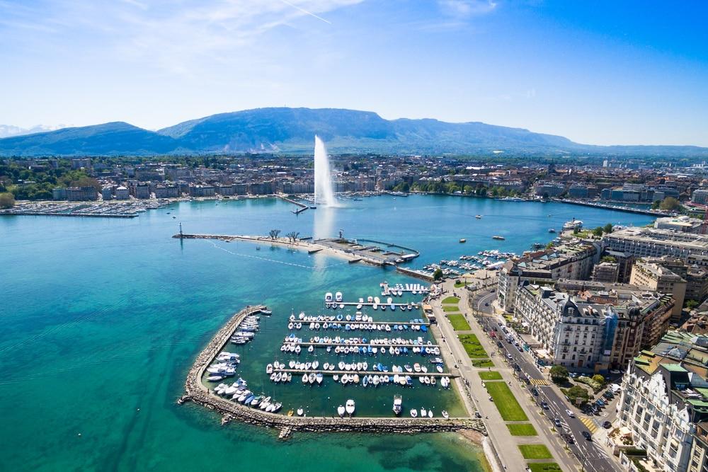 Lac Léman, Suisse