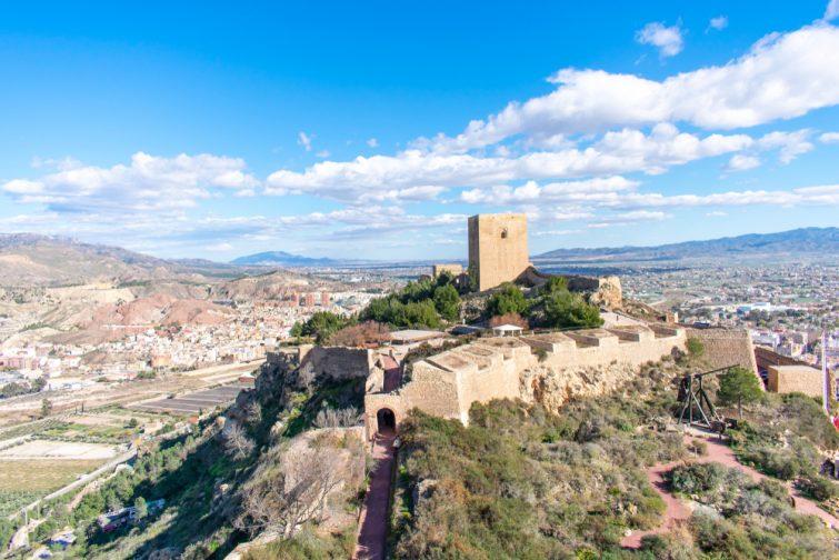 Lorca visiter la région Murcie