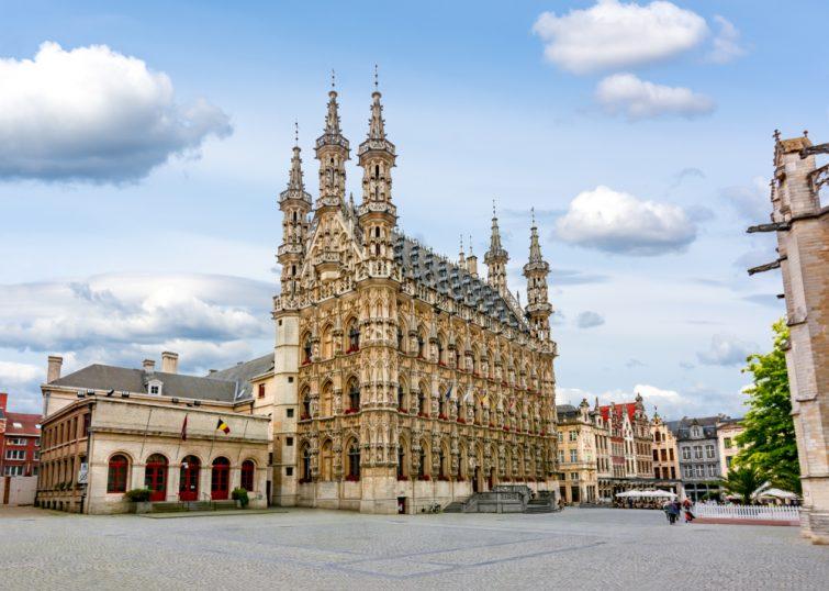 Hotel de Ville Louvain Belgique