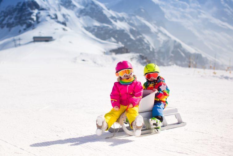 Luge activité outdoor à Zermatt