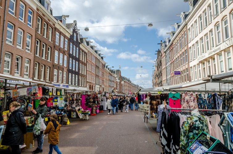 Le marché Albert Cuyp, De Pijp, Amsterdam