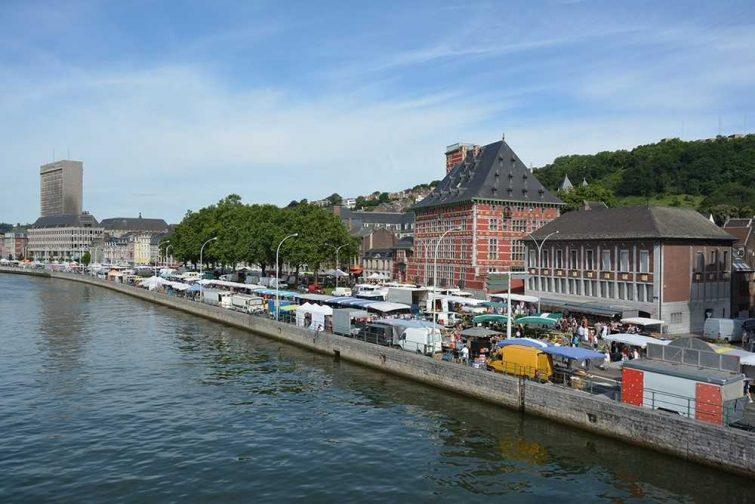 Marchés visiter province de Liège