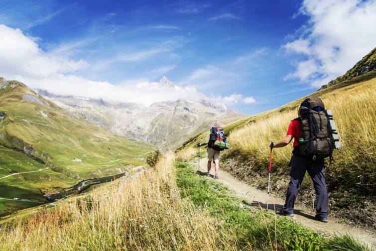 Randonnée visiter Mont-Blanc