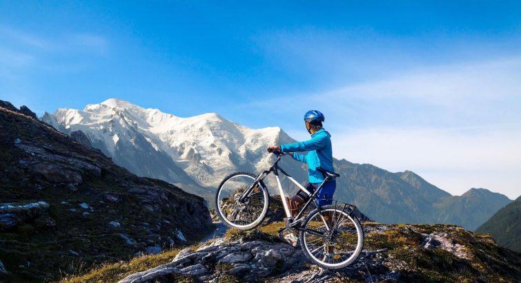 Visiter Mont-Blanc VTT