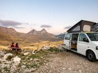 Le Monténégro en camping-car