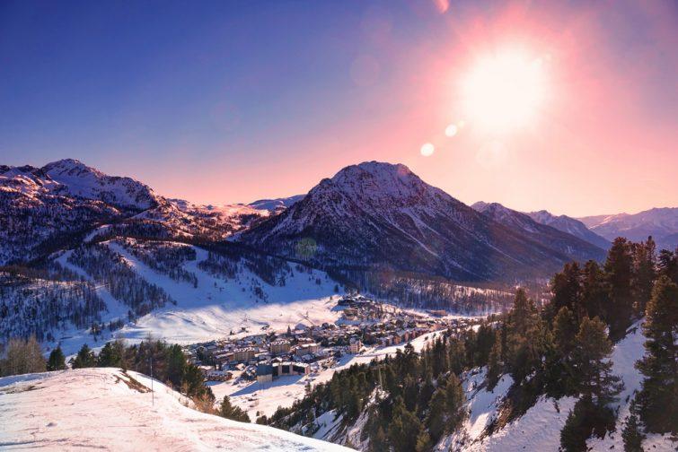 Montgenèvre station de ski alpes du sud