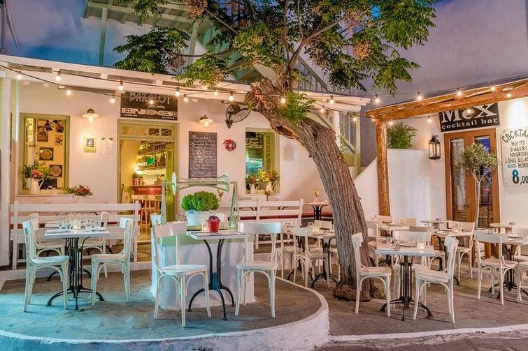 Meilleurs restaurants à Mykonos : Bakalo