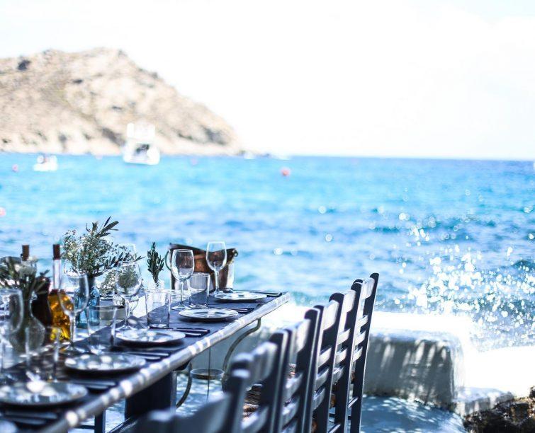 Meilleurs restaurants à Mykonos : Spilia