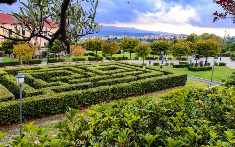 Parc visiter Cantazaro