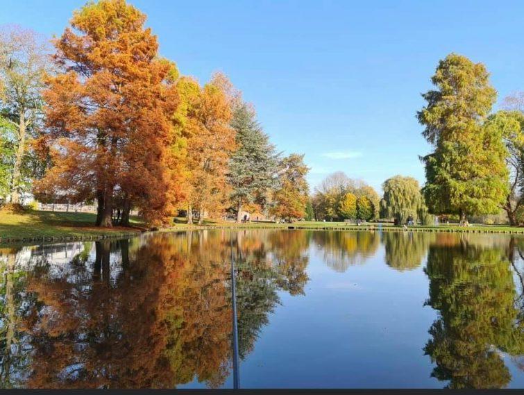 Parc du Chateau d'Hélicine visiter la province du brabant wallon
