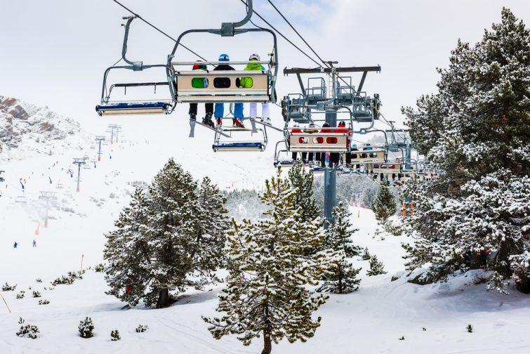 Ski activité outdoor Pas de la Case