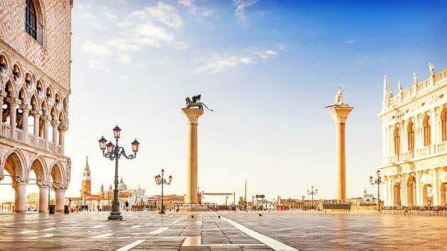 La Place Saint-Marc à Venise : guide complet