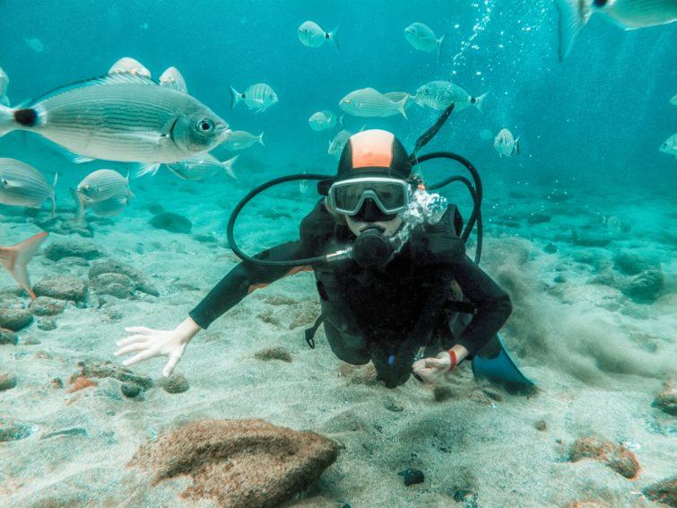 Plongée activité outdoor à Lanzarote