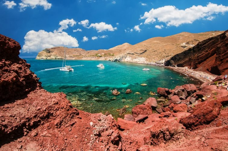 Red Beach cyclades