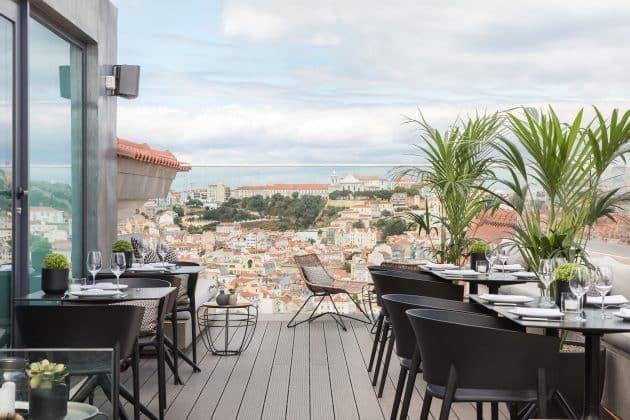 Les 11 meilleurs rooftops où boire un verre à Lisbonne
