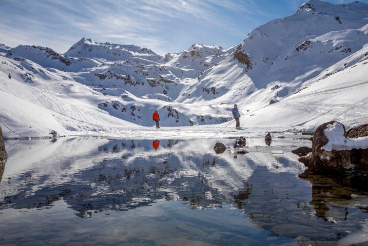 Saint-Martin de Belleville station de ski Alpes du Nord