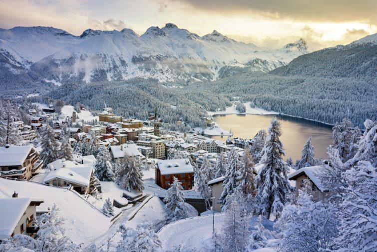 Saint-Moritz visiter les Grisons