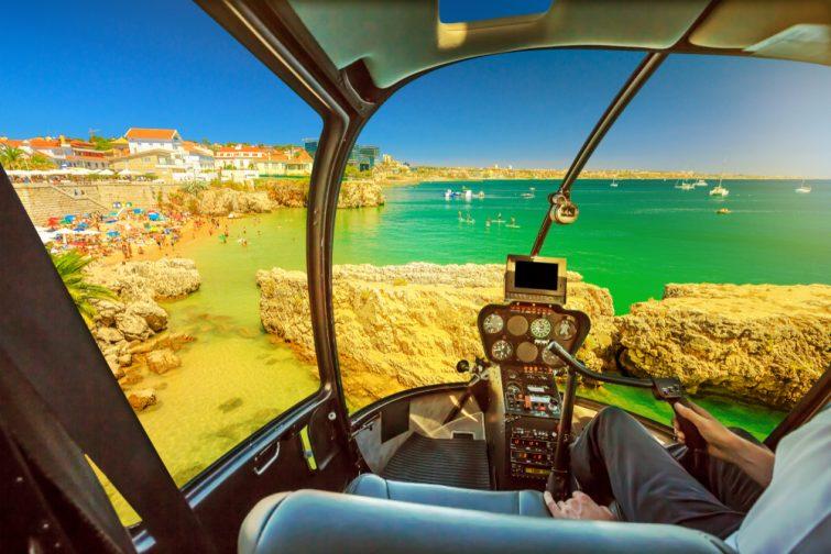 Lisbonne hélicoptère - activité outdoor lisbonne