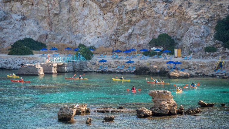 Kayak Rhodes - activité nautique Rhodes