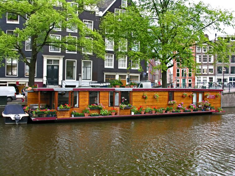 Houseboat Pays-Bas
