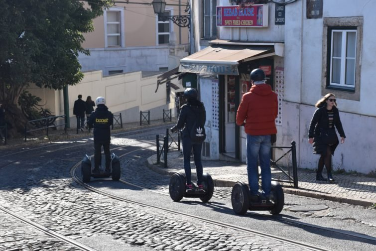 Lisbonne segway - activité outdoor lisbonne