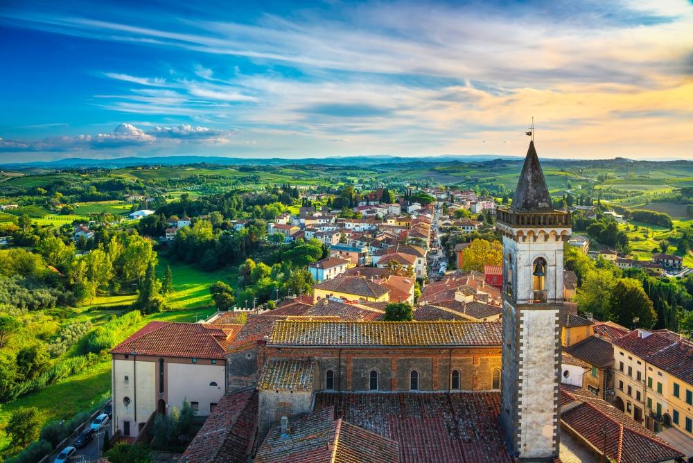 Vinci, Toscane