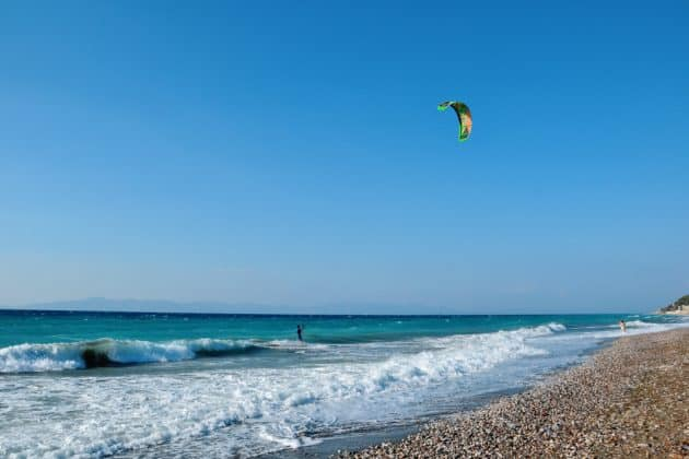 Comment et où faire du kitesurf à Rhodes ?