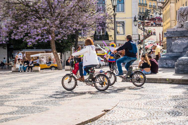 Vélo Lisbonne
