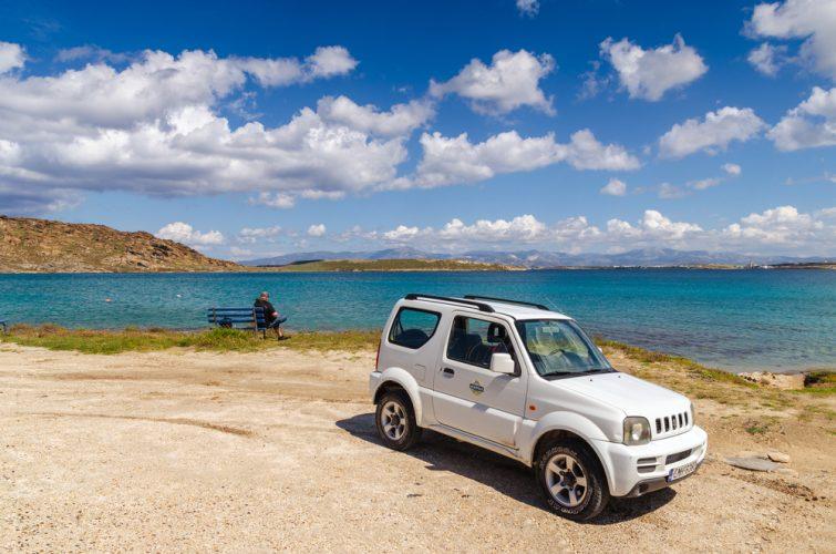 Voiture Paros - transfert entre l'aéroport du Paros et le reste de l'île