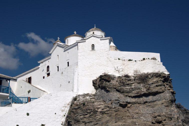 Skopelos, monastère