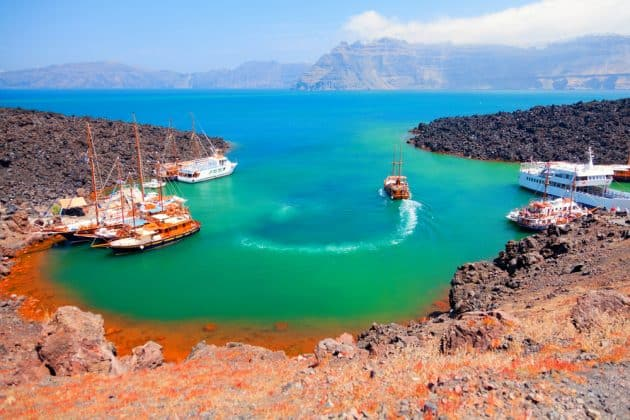 Les 12 plus belles plages où se baigner à Santorin