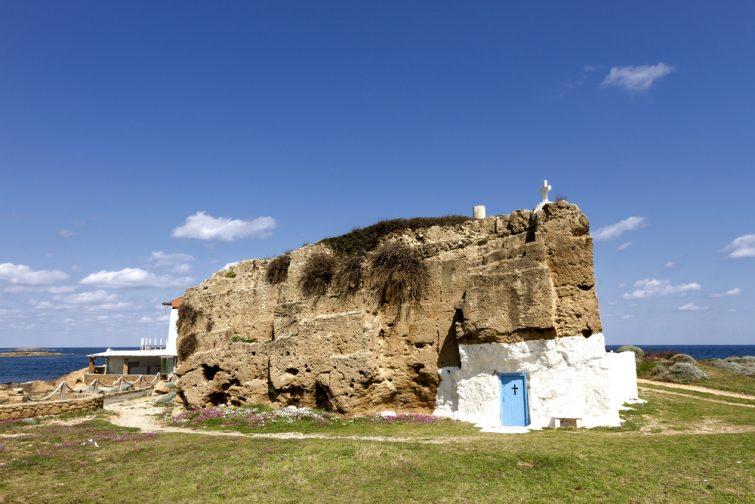Skyros, église
