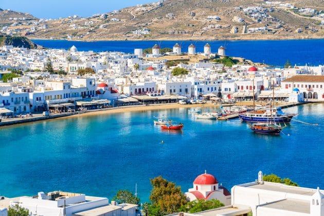 Location de bateau à Mykonos : idées d'itinéraires