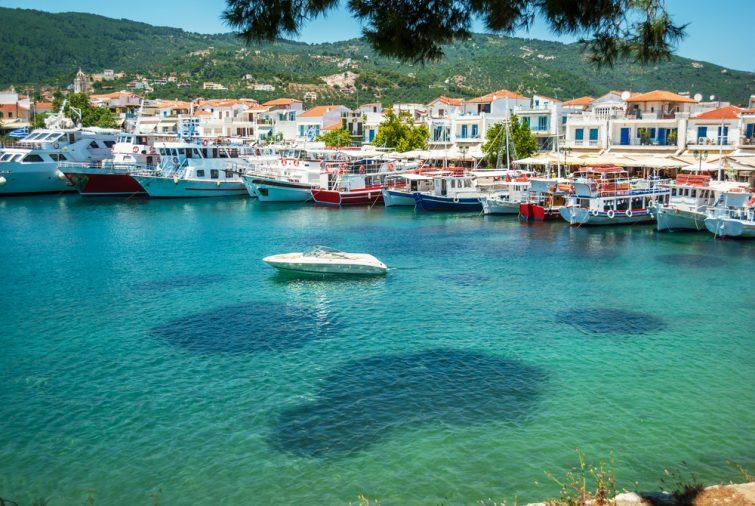 Skiathos, Sporade