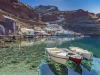 Baie d'Ammoudi, Santorin