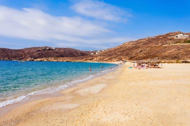 Les 12 plus belles plages où se baigner à Mykonos