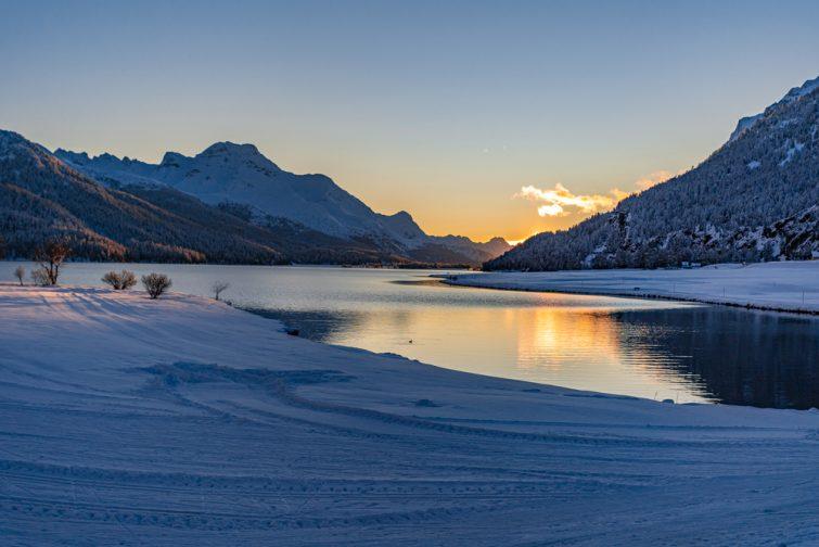Lac de Silvaplana Suisse