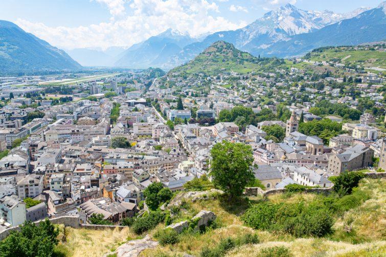Sion visiter le Valais