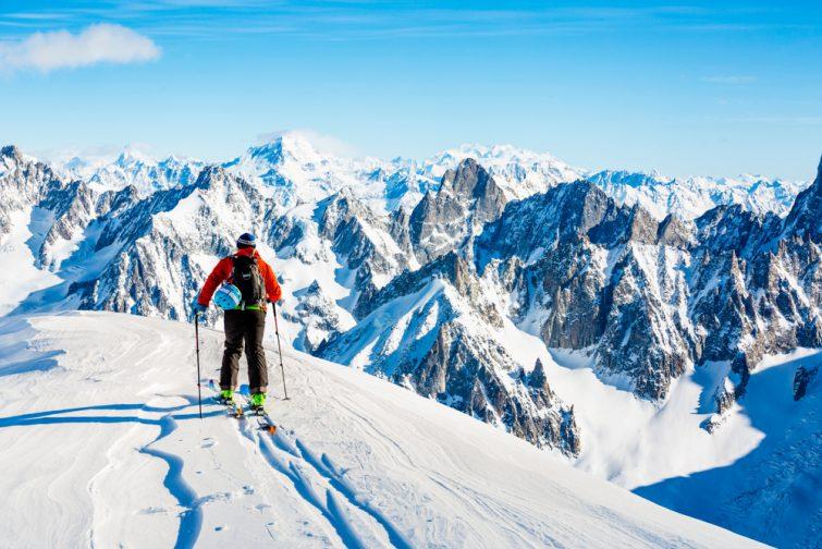 Ski de randonnée Mont-Blanc
