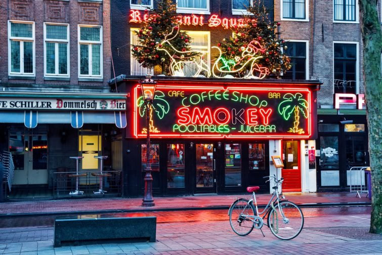Club Smokey, Rembrandtplein, Amsterdam