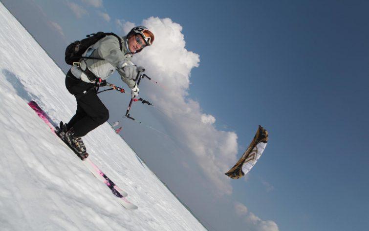 SnowKite activités outdoor Chalmazel